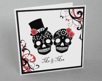 Sugar skull wedding | Etsy