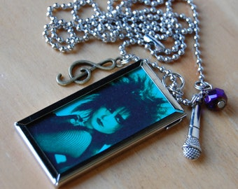 Siouxsie Sioux Necklace~ Double Sided with Charms~ Siouxsie and the Banshees