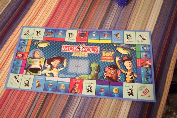Toy Story Jr Vintage Board Games Craft Supply Game Replacement Boards Only Art Projects 60 S 2000 S