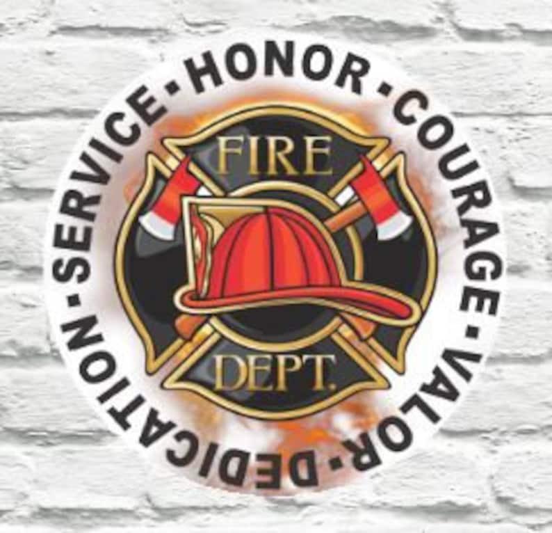 Firefighter Wreath Sign, Firefighter sign, Firefighter Decor, Gift for  Firefighter, Fireman Sign, Maltese Cross Sign, Wreath Sign Fire Dept