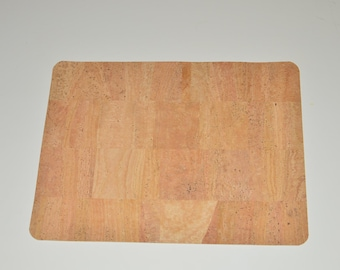 Cork leather placemat (set of 4)