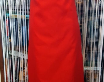 Vintage 60s evening gown with watteau back and fabric rosettes shimmery pretty! Size 8-10