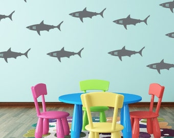 Superior Shark Wall Decal   Shark Vinyl Decals For Walls   Shark Week Decals   Vinyl  Wall