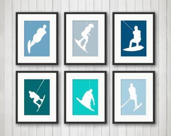 Sports & Fitness Prints