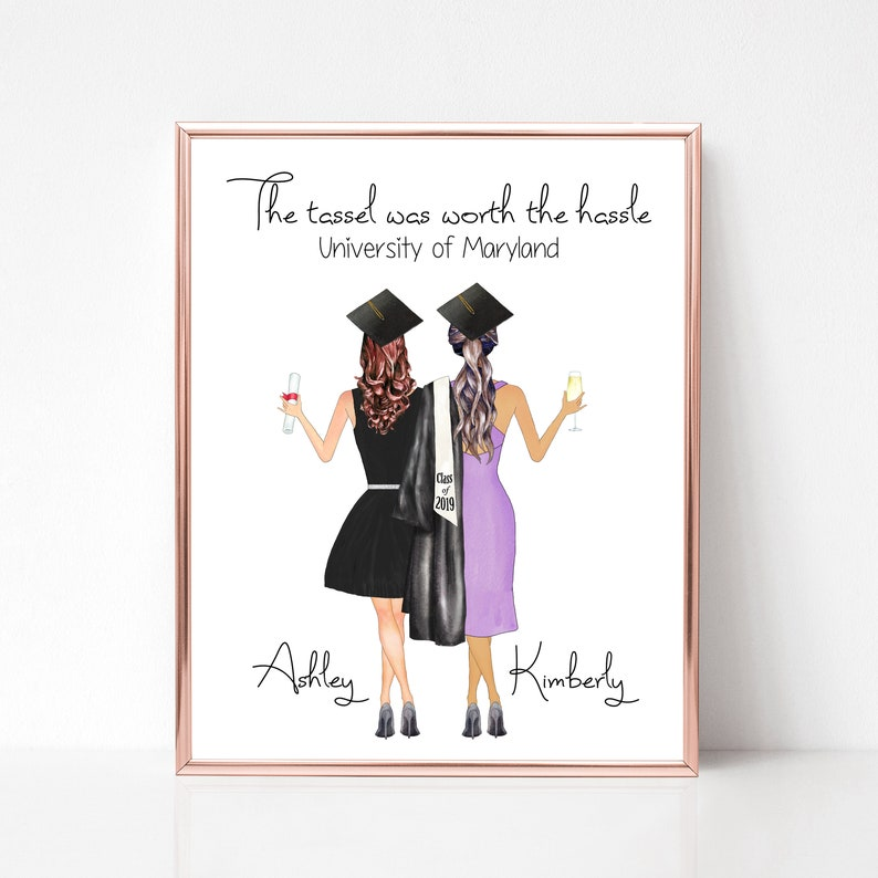 Graduation Gift for Her University Gifts College Grad Gift image 0