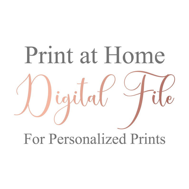 Digital File  Print at Home image 0