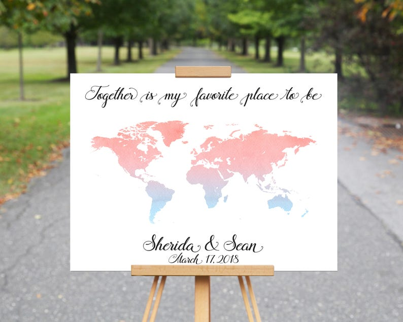 World Map Wedding Guestbook, Travel Destination Signature Guest Book, on my travel group, my travel holidays, my travel itinerary, my travel agent, my travel health, my travel history,
