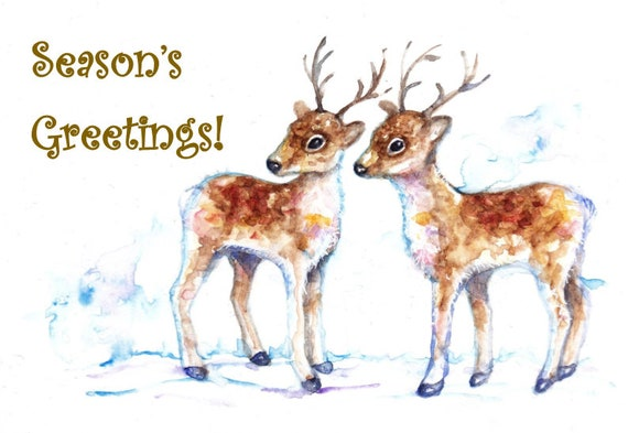 Wildlife Christmas Cards.Christmas Season Greetings Cards Wildlife Christmas Cards Festive Animal Cards Cards For Loved Ones Festive Greeting Cards