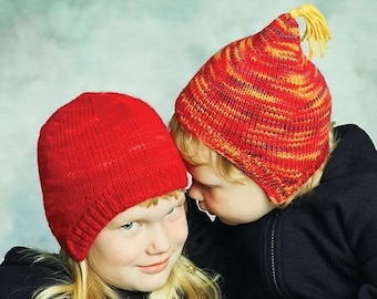 2b6978fdf036e Bev Galeskas for Fiber Trends CH34E Ear Cozies Hat w Flaps (Birth to Adult) Knitting  Pattern