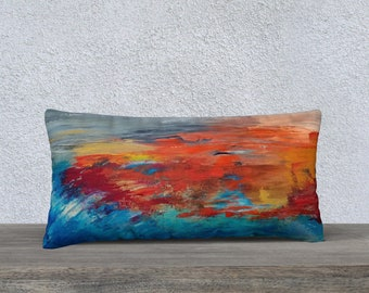 The emergence of an empire, cushion cover 24 x 12