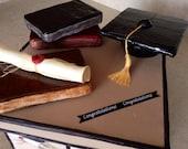 Gum Paste Graduation Cake...
