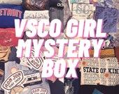 VSCO Girl Mystery Box Style Summer Thrifted Short Sleeve