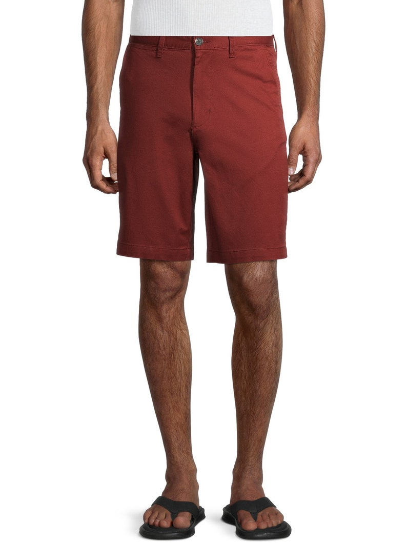 44 46 George Men/'s 10 Flat Casual Front Shorts 30 32 34