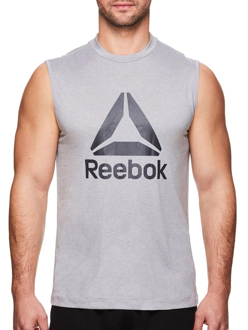 Reebok Men/'s Dominator Muscle Tank Top S M