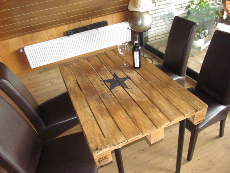 Design dining tablePallet tableSTERN image 0