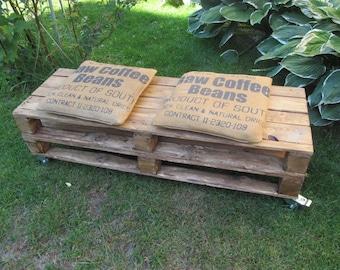 Pallet bench**Lowboard** Old-School***Pallet furniture**