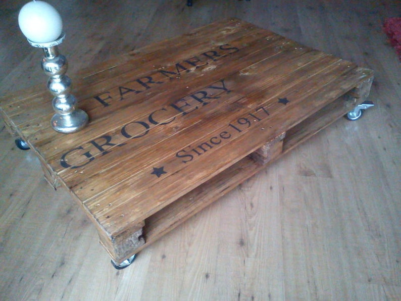 Coffee table Pallet Farmers grocery... image 0