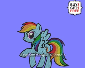 Rainbow Dash Pattern Etsy