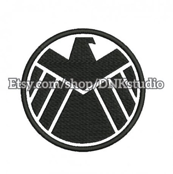 Agents Of Shield Embroidery Design 5 Sizes Instant Etsy