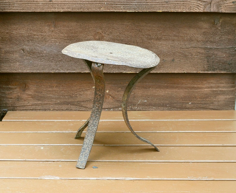 Ideas About Milking Stools Metal Antique