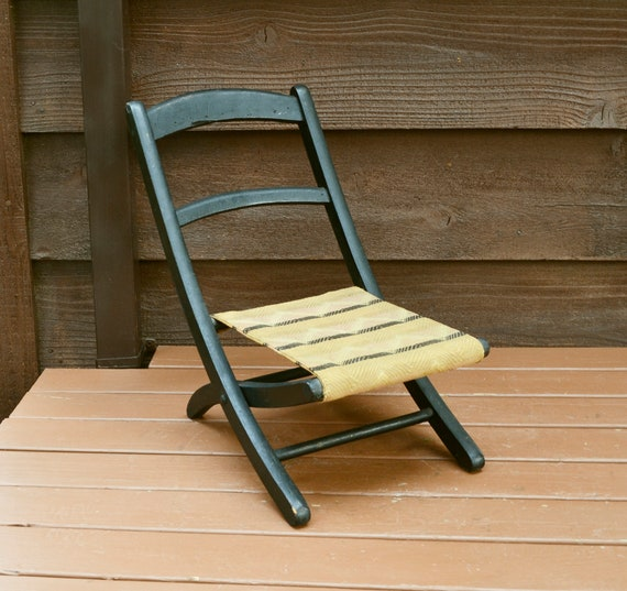 Stupendous Childs Chair Wooden Childs Folding Chair Old Folding Chair Antique Childs Seat Theyellowbook Wood Chair Design Ideas Theyellowbookinfo