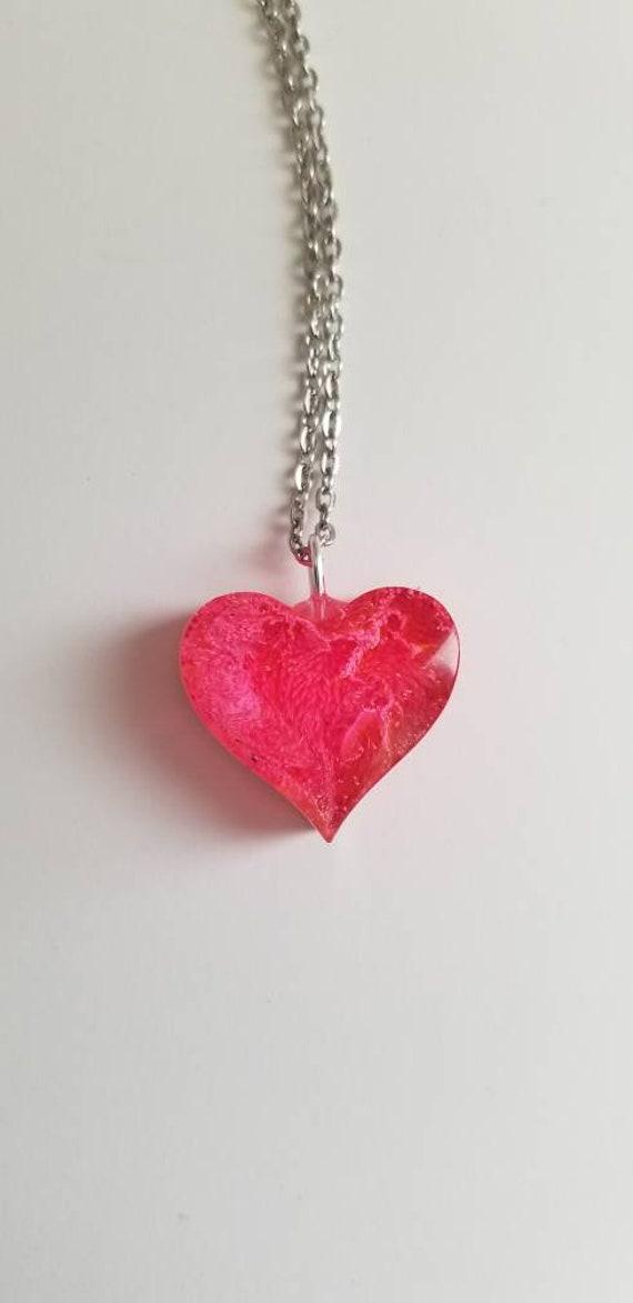 heart jewelry Valentine/'s Day heart necklace love heart pendant heart charm Heart hearts valentine valentine jewelry