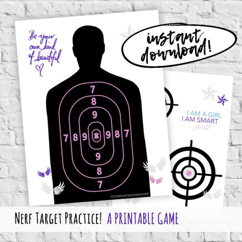 photo relating to Nerf Gun Targets Printable referred to as Nerf Rebelle Bash Little ones Recreation Focus Educate Objectives Lady Electricity Nerf Rebelle Birthday Entertaining Present Birthday Printable Gun Goals Little ones Recreation Present