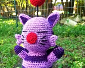 Artemicion Moogle Crochet Doll