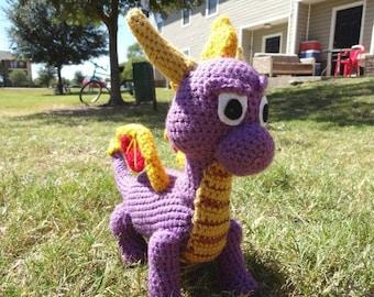 Spyro inspired plush