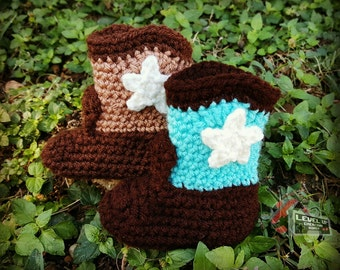 a01fc6eb469 Baby Cowboy Booties