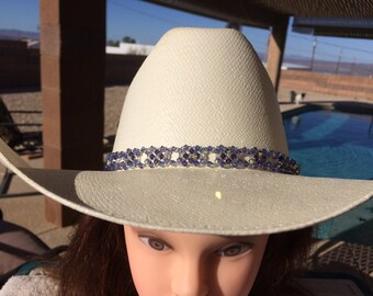 f91b46b0f0d Crystal Beaded Hat Band - W-w