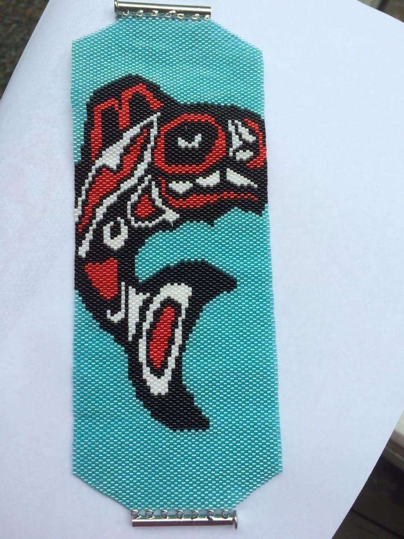 Alaskan Killer Whale Cuff Bracelet