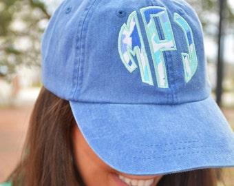 Lilly Pulitzer Monogrammed Hat