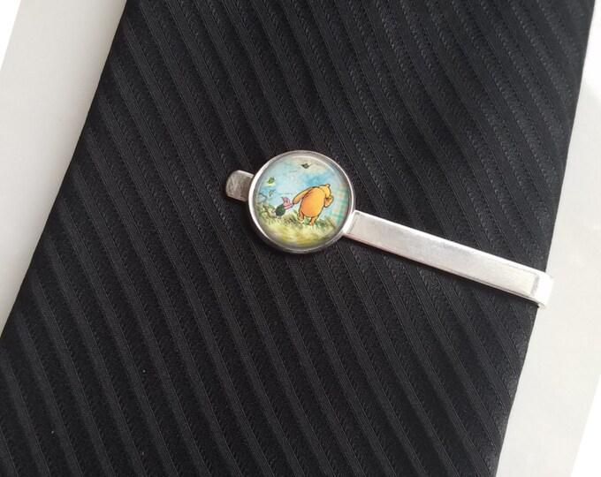 Winnie the Pooh Tie Pin Lapel Pin Tie Clip Tie Bar