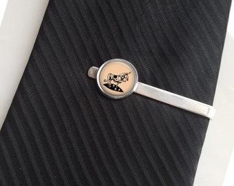 Ferdinand Tie Pin Lapel Pin Tie Clip Tie Bar