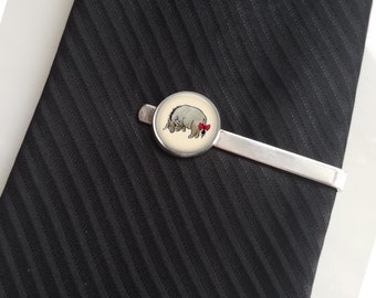 Eeyore Tie Pin Lapel Pin Tie Clip Tie Bar