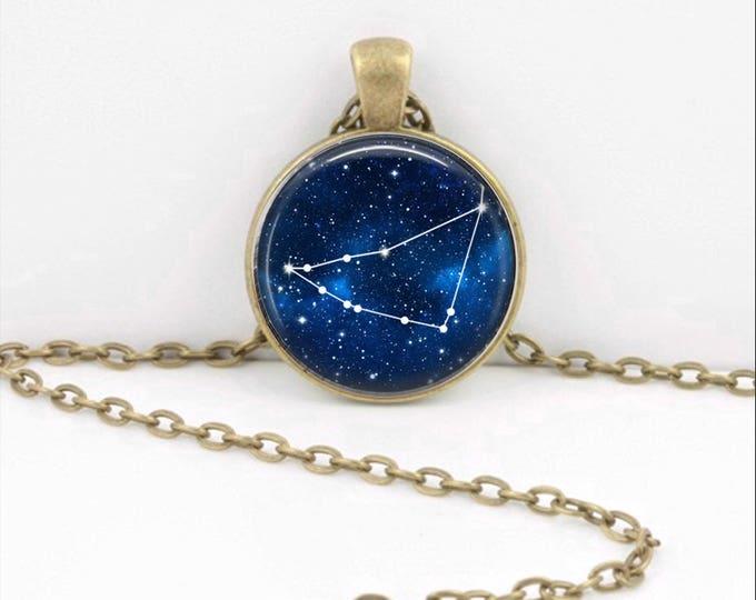 Capricorn Necklace, Capricorn Pendant, Capricorn Jewelry, Astrology, Zodiac, Constellation, Zodiac Sign Necklace, Zodiac Necklace