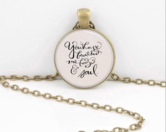 Jane Austen Pride and Prejudice Mr Darcy You Have Bewitched Me  Inspirational Quote Valentine's Day Gift