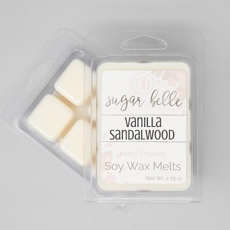 Vanilla Sandalwood Scented Wax Melts
