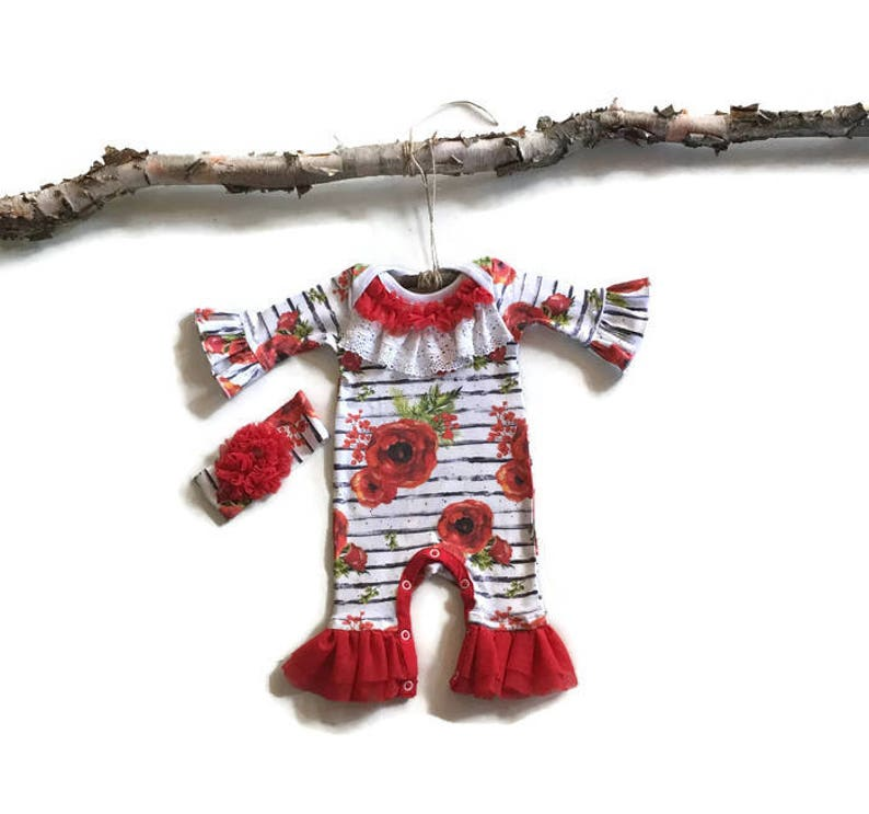 Baby Girls Christmas Outfit Up 3 Months Girls' Clothing (newborn-5t) Baby & Toddler Clothing