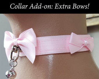 Collar Add-on: Extra Bows! (1 pair)