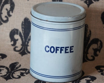 Vintage Coffee Tin Collectable