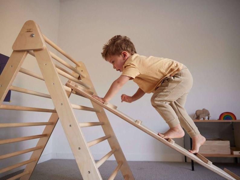 Made in USA Climbing Triangle  Montessori Climber image 0