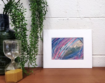 Original Painting // Painting on Paper // Mixed Media // Acrylic Painting // Abstract Art