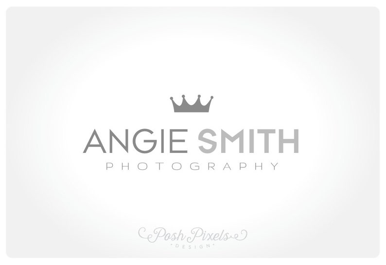 Logo Design (Premade) Crown logo, Photography logo, Modern logo, Boutique  logo, Simple logo