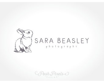Rabbit Logo, Bunny Logo, Photography Logo, Business Branding