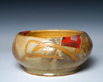 Porcelain Handmade Bowl, Dusk