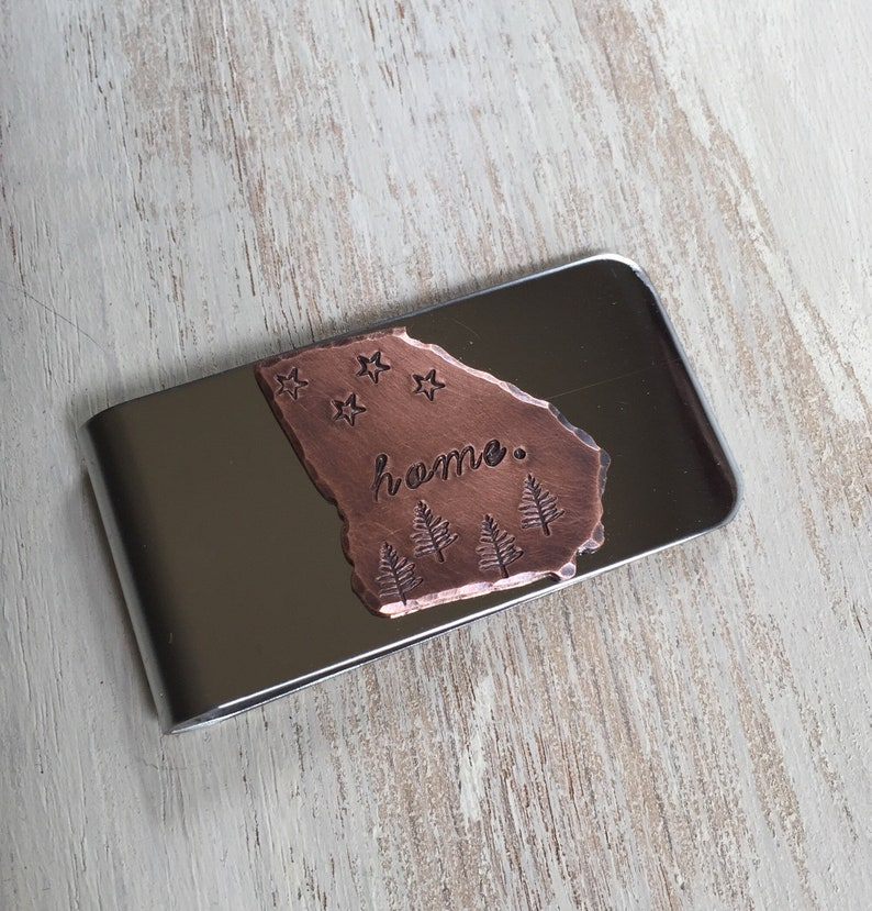 Georgia Money Clip Men's Accessories Gifts for Dad Gifts image 0