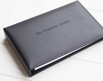 My Gorgeous Groom Journal, Groom Journal From Bride, Groom Gift, Gift For New Husband, Wedding Gift For My Husband (8C2)