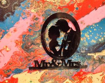 Mr & Mrs Wall Art- Wedding- Anniversary Gift